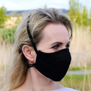 irish linen face mask