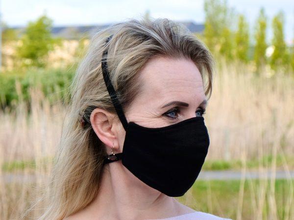 irish linen face mask