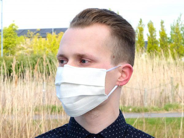 linen face mask ireland