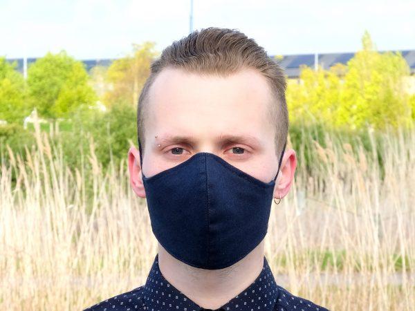 washable linen face mask ireland